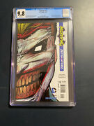 Batman 13 Dc Comics, 2012 Cgc Graded 9.8 Death Of The Family White Pages