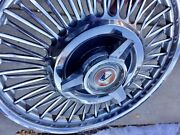 13andrdquo Wire Wheelcover Hubcap 63-65 Falcon Sprint One For Wall Or Spare Shiny