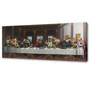The Last Supper Canvas Print Picture Wall Art Free Fast Uk Delivery