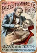 Metal Sign - 1881 Pikeand039s Toothache Drops -- Vintage Look