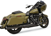 Bassani 4 Dnt Megaphone Mufflers With An Acoustically Tuned Baffle 1f572dnt5b