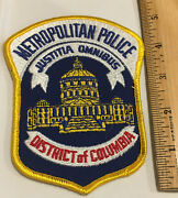 Arm Patch District Of Columbia Metropolitan Police