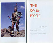 Sovereign Nation Sioux 1971 Medal + Book The Sioux People By J.h. Cash