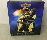 Hot Toys Movie Masterpiece Figure Marvel Guardians Of The Galaxy Groot And Rock