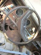 72-79 Thunderbird Steering Wheel And Horn Pad Has Cracks And Seperation Sold As Is