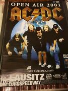 Acdc Autographed Concert Poster Signed By All 5..jsa
