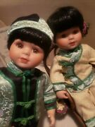 Asian Porcelain Dolls Jade And Ming