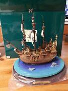 Wdcc Enchanted Places Peter Pan The Jolly Roger Captain Hook's Ship Disney 4577