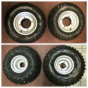 4 Yamaha Blaster 2001 Wheels And Tires 2 21x7-10 And 2 21x10-8 Local Pick-up