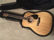 Yamaha Fg365se Electric - Acoustic Guitar Vintage 1980s With Great Hard Case