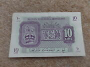 Rare Collection British/ Libya Military Authority In Tripolitania Banknote 1943