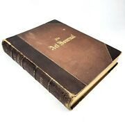 1877 The Art Journal Volume 3 Large Leather Excellent