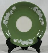 Rare Discontinued Lenox Apple Blossom Pattern Green Tea Saucer Only Mint