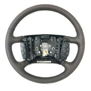 Gm Steering Wheel Cadillac Dts 2006-2011 Cocoa Brown W Black Accents 25922696