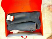 Very Very Rare New Hunter Tall Rain Boots Back Buckle Adjustable Size 8