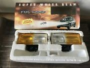 Universal Suv Fog Light Spot Lamp H3 Yellow/clear Adjustable Fit All Car Ae86