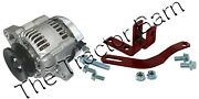 Tractor Mini 35 Amp 12-v Negative Ground Alternator Pulley 1 Wire Hook And Bracket
