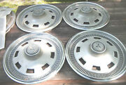 Oe Set Of 4 14 Inch Wheelcovers 1967 Dodge.dart.charger 8 Slot Style 310