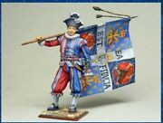 Tin Toy Soldiers Elite Painted 54 Mm Commander Of The Regiment Of Swiss Guards