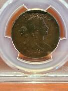 1802 Large Cent - Pcgs Genuine Polished - Xf Detail 1c