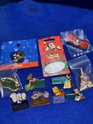 11 Disney Collector Pins +more Cheshire Winnie Dumbo Mickey Timon Princess Wdcc