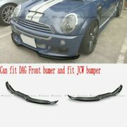 For Mini Cooper 03-07 R53 Forged Carbon Look Dg1 Style Front Wing Fit Dag/jcw