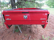 Bed For Red 2012 Dodge Ram 2500 8and039 Long Box And Lights