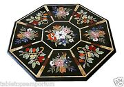 3and039x3and039 White Marble Dining Room Table Marquetry Inlay Mosaic Arts Garden Decor