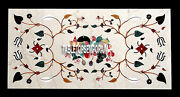 5and039x3and039 Exclusive Marble Restaurant Table Antique Inlaid Arts Work Outdoor Decor