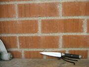 Vintage 4 1/4 Blade John Russell Green River Works Carbon Paring Knife Usa