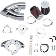 Sands Chrome Tuned Induction Air Cleaner Kit For Harley Sportster 07-20