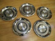 5 Vintage 1959 59 Lincoln Mark Series Premier Town Car Hubcaps Wheel Covers