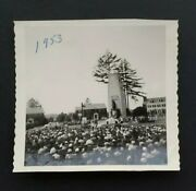 1953 Field Mass Fort Lewis Air Force Afb Mother's Day Vintage Photo Korean War