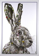 Chess - Spotted Hare Framed - In Stock