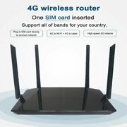4g Lte Router 300mbps Wireless Cpe 3g/4g Mobile Wifi Hotspot With Sim Card Slot
