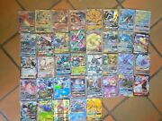 Pokemon Card Lot 37 Official Tcg Cards Ultra Rare Included | Gx Ex Or Mega Ex
