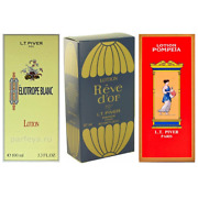 Heliotrope Blanc + Pompeia + Reve Dand039or By Lt Piver Lotion Edt 3.3 Oz 3 Pack