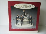 Hallmark 1994 30th Anniversary Beatles Gift Set Of Ornaments 100 Complete Mint