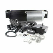 Perrin Front-mount Intercooler Kit For 15-17 Sti - Black Core Black Piping