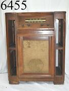 Vintage Tube Radio Record Player Turn Table Cabinet Philco 49-1600 1949 Stereo