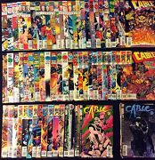 Cable 1-105 And Soldier X 1-11 And More 116 Comics Total Missing 12 Issues