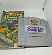 Tnmt Fall Of The Foot Clan Nintendo Vintage Collectable Bundle +simpsons Watch