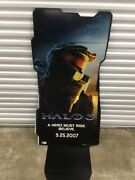 5 Ft New Halo 3 Master Chief Standee Game Store Display Xbox Life Size