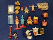 Mcdonalds Happy Meal Toys Changeables Ornaments Nib Tapes Fun Pre-owned Lot