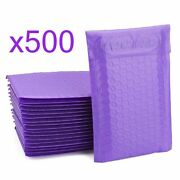 500 Bubble Mailers Purple 6x10 Packaging Shipping Supplies Envelope 6 X 10