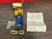 Rare Cal Custom Italian Bus 6v Horn Conversion Kit Nos Old School Accessory 1020