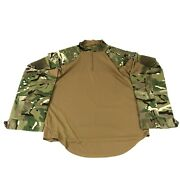 British Mtp Combat Shirt W Padded Shoulders And Sleeves Multi Terrain Xl