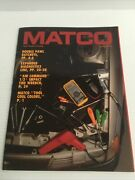 Spring 1991 Matco New Product Vintage Tool Catalog Automotive Tool Carts Boxes