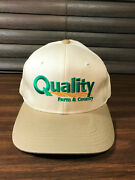 Nos Quality Farm And Country Store Snapback Hat Cap Now Named Tractor Supply Vtg