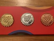 Coca Cola 2012 Olympic Medal Pins